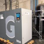 Installazione nuovo compressore 90 kw