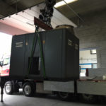 Revisione completa compressore 110 kw