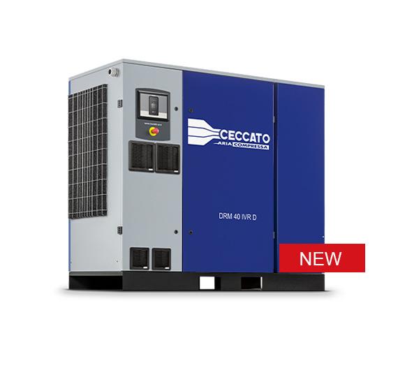 Compressori Ceccato a vite DRM 40-60 IVR